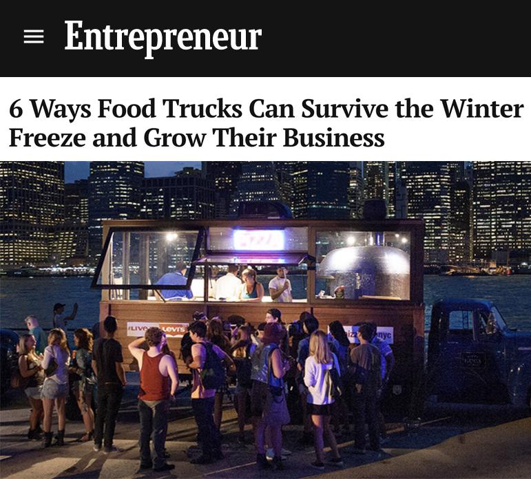 Pizza Luca truck on Entrepreneur website.